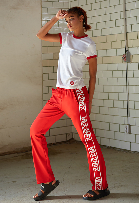 [80%단기세일]  [MSBP01_04RE] LOGO SWEATPANTS